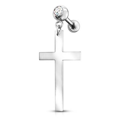 Barbell con pendente a croce